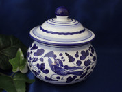 Garlic Pot, Deruta Arabesco Garlic Jar