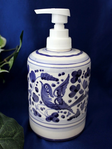 Deruta Arabesco Soap Pump