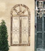 Tuscan Window Wall Grille