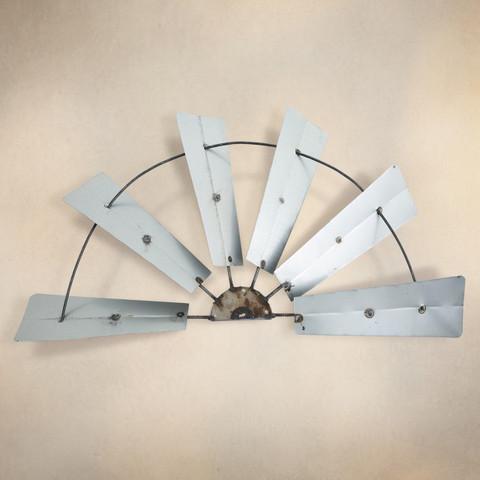 Windmill Wall Decor, Half Windmill Wall Decor, Metal Windmill Wall Decor, Half Windmill