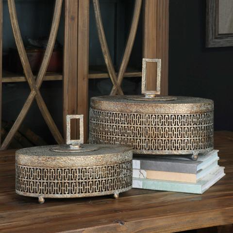 Tuscan Boxes, Tuscan Metal Boxes