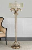 Alenya Floor Lamp, Tuscan Lamp, Mediterranean Style Floor Lamp