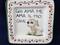 Italian Wall Plaque, Italian Proverb Plate, Love Me Love My Dog, Chi Ama Me Ama Il Mio Cane