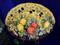 Tuscan Olives Lemons Fruit Serving Platter, Tuscan Fruit Platter, Tuscan Olives Plate