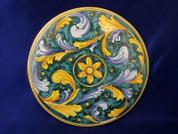 Italian Ceramic Wall Tile, Italian Ceramic Wall Plaque, Italian First Stone