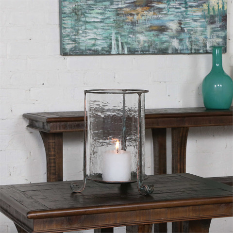 Tuscan Candle Holder, Tuscan Hurricane