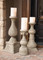 Tuscan Candle Holders, Tuscan Floor Candle Holders