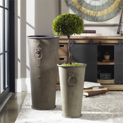 Tuscan Planters, Urns