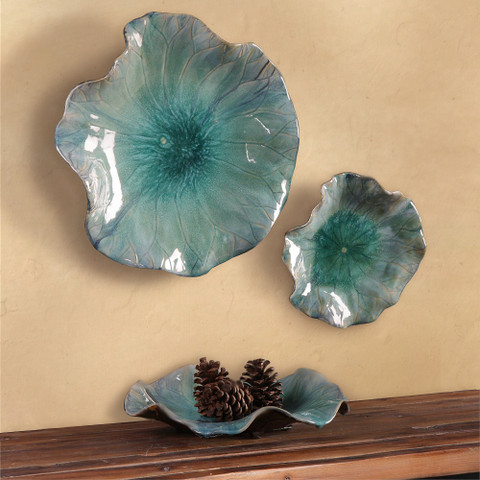 Ceramic Flowers Wall Art, Ceramic Flowers Bowl