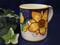 Deruta Tuscan Sunflowers Coffee Mug, Deruta Tuscan Sunflowers Coffee Cup