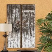 Tuscan Door, Old Door Wall Panel