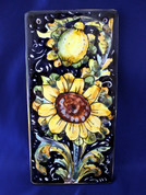Italian Wall Tile, Tuscan Sunflower Wall Tile, Tuscany Wall Tile, Italian First Stone