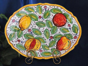 Tuscany Lemons Serving Platter