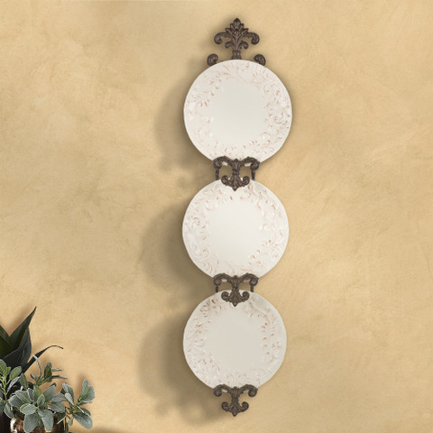 Hanging Plate Rack, Tuscan Plate Rack, European Style Plate Rack