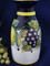 Italian Ceramic Wine Carafe, Deruta Lemons Grapes Wine Carafe, Deruta Wine Carafe