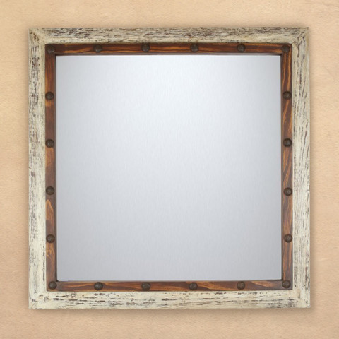 Tuscan Rustic Accent Mirror