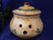Deruta Gubbio Garlic Pot, Garlic Pot