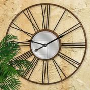 "Roman Numeral 42"" Wall Clock, Roman Numeral Wall Clock"