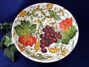 Tuscan Grapes Serving Bowl, Tuscany Serving Bowl