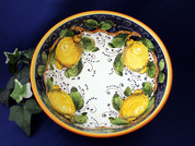 Tuscan Lemons Serving Bowl, Tuscany Serving Bowl