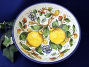 Tuscan Lemons Bees Serving Bowl, Tuscany Serving Bowl