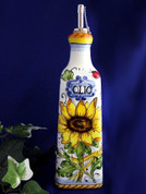 Tuscan Sunflower Olive Oil Bottle