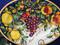 Tuscan Lemons Grapes Serving Platter