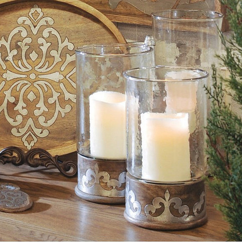 Tuscan Candle Holders