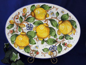 Tuscan Lemons Bees Serving Platter