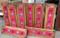 Tuscan Rustic Coat Rack, Red Leather Concho Coat Rack