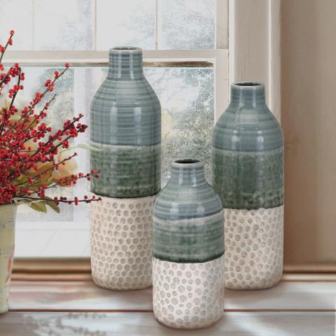 Tuscan Vases, Mediterranean Style Bottles