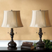Tuscan Lamp Set of 2