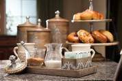 Tuscan Cream & Sugar Set