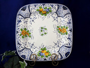 Tuscan Fruit Serving Platter, Tuscan Fruit Square Plate