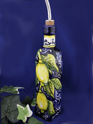 Tuscan Lemons Olive Oil Bottle, Lemon Olive Oil Bottle, Tuscany Olive Oil Bottle