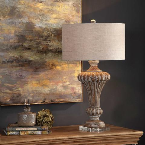 Tuscan Urn Lamp