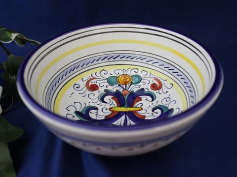 Deruta Ricco Soup Salad Bowl, Deruta Ricco Serving Bowl, Deruta Ricco Bowl