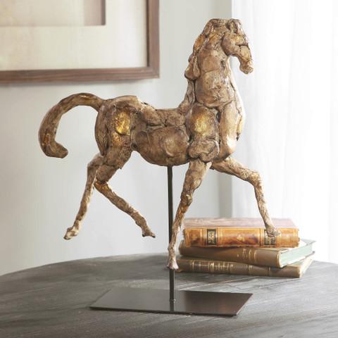 Caballo Dorado Horse Sculpture