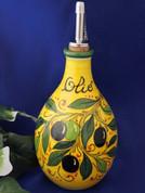Tuscan Olives Olive Oil Bottle