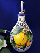 Tuscan Lemons Bees Olive Oil Bottle