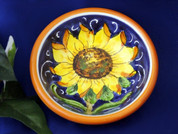 Tuscan Sunflowers Olive Oil Dipping Bowl