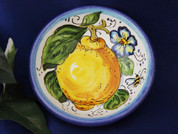 Tuscan Lemons Bees Olive Oil Dipping Bowl
