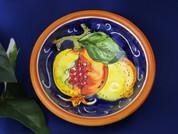 Tuscan Pomegranates Lemons Olive Oil Dipping Bowl