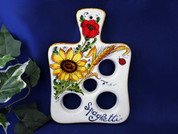 Tuscan Sunflowers & Poppies Spaghetti Doser