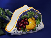 Tuscan Lemons Grapes Napkin Holder