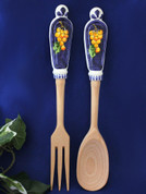 Italian Salad Servers, Italian Salad Tongs
