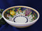 Tuscan Lemons Grapes Fruit Serving Bowl, Tuscany Serving Bowl