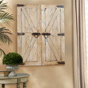 Barn Door Wall Decor, Farmhouse Barnwood Wall Hangings