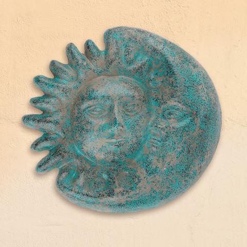 Clay Sun Face Eclipse, Tuscan Sun Wall Decor
