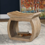 Reclaimed Wood Accent Stool, Bench, Chair